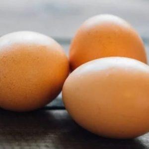 Små egg fra bortskjemte høner