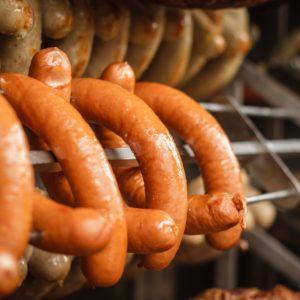 Grillwurst av geit fra Hakadal